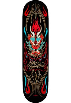 Powell-Peralta Caballero-Pin-Stripe-Dragon - titus-shop.com #Deck #Skateboard…