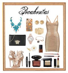 A fashion look from October 2017 featuring beige dress, Giuseppe Zanotti and evening bags. Browse and shop related looks. Olivia Burton, Pocahontas, Giuseppe Zanotti, Bobbi Brown, Casetify, Versace, Cosmetics, Shoe Bag, Polyvore