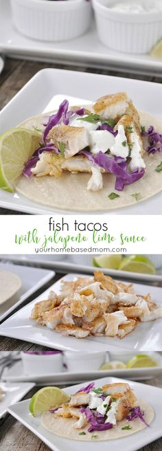 Fish Tacos with Jala