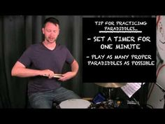 How To Play A Paradiddle Drumming Rudiments Drum Paradiddles  Drum Videos and Drumming Tips Beat-Doctor.com