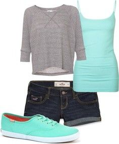 This is so simple, and it would look so cute! I actually really like that plain gray tee..