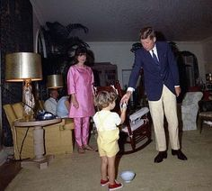 JFK, Jackie, and John-John
