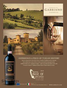 Gabbiano #wine #advertisement