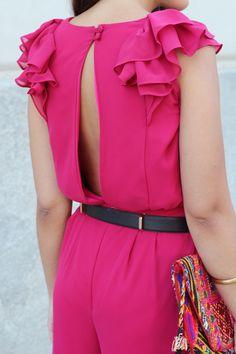 Pink Jumpsuit por All that she wants ♥ La Böcöque Verano 2014