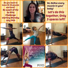 All about PiYo!!- PiYo is workout that combines Pilates and Yoga together that results with shaping your body without hard impact on your joints!