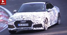 2018 Audi RS5 Coupe Rumbles Down The Nurburgring #Audi #Audi_RS5