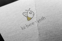 """Przejrzyj mój projekt w @Behance: """"LA-BEE-RYNTH Logo design"""" https://www.behance.net/gallery/44927237/LA-BEE-RYNTH-Logo-design"""