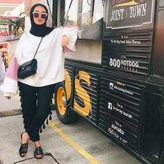 """1,645 Likes, 167 Comments - Leena Ha (@leenalghouti) on Instagram: """"Its all about oversize """""""