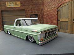 Vintage Pickup Trucks, Classic Ford Trucks, Ford Pickup Trucks, 1979 Ford F150, 1964 Ford, Farm Trucks, Cool Trucks, Custom Hot Wheels, Custom Cars