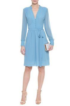 Vestido Midi Crepe Mary