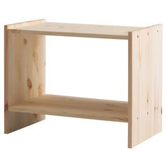 This would look great if painted - and only costs 9,99€! (RAST Ablagetisch - IKEA)