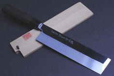 Honyaki Mirror-Finished Edo Usuba Japanese Vegetable chef knife 210mm,YOSHIHIRO #Yoshihiro #HonyakiMirrorFinishied
