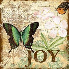 Trademark Fine Art 'Inspirational Butterflies Graphic Art Print on Wrapped Canvas Size: H x W x D 3 Canvas Art, Artist Canvas, Canvas Size, Butterfly Pattern, Butterfly Art, Butterflies, Green Butterfly, Art Doodle, Etiquette Vintage