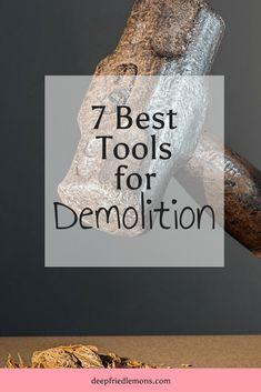 7 Best Tools for Home Demolition  #DIY #tools #demo  DIY, tools, home, demo, home demo, renovation via @https://www.pinterest.com/deepfriedlemons/pins/