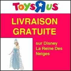 #missbonreduction; Livraison offerte sur Disney La Reine Des Neiges chez Toysrus.http://www.miss-bon-reduction.fr//details-bon-reduction-Toysrus-i852715-c1833623.html