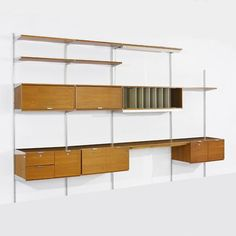 George Nelson, Comprehensive Storage System, Herman Miller          Need this! Grown Folks Furniture - W2K