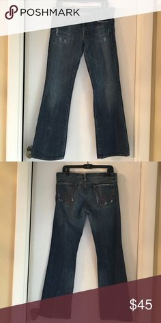 Citizen of Humanity jeans Style Ric Rac Citizen of humanity jeans size 32 worn 1x style Ric Rac 108 low waist boot cut Citizens of Humanity Jeans Boot Cut