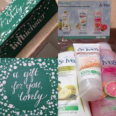 #LiveRadiantly with St. Ives thanks to Influenster!