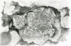 Span, pencil on Somerset paper, 152.4 x 101.6 cm, 2014
