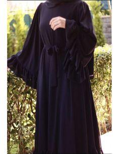 Modest Fashion Hijab, Modern Hijab Fashion, Abaya Fashion, Muslim Fashion, Fashion Dresses, Modest Dresses, Modest Outfits, Modest Clothing, Abaya Designs Latest