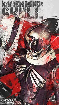 Kamen Rider W, Kamen Rider Kabuto, Kamen Rider Series, Robot Cartoon, Alone Art, Cool Art, Character Design, Hero, Manga Artist