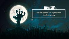 Template pub vidéo McFlyy sur le thème d'halloween.