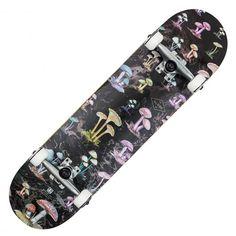 GLOBE Full On black shrooms pack skateboard complet 8 pouces 85,00 € #skate #skateboard #skateboarding #streetshop #skateshop @playskateshop