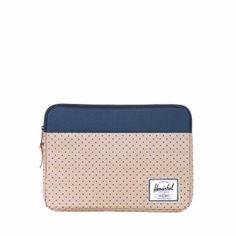 polka dots hershel macbook pro sleeve.