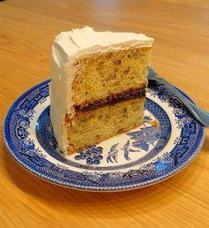 One Perfect Bite: Black Walnut Cake with Sea Foam Icing Cake Icing, Cupcake Cakes, Cupcakes, Black Walnut Cake, My Dessert, Icing Recipe, Piece Of Cakes, Let Them Eat Cake, Vanilla Cake