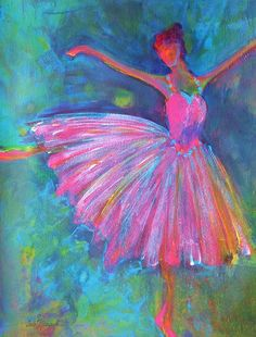 Ballet Bliss Painting