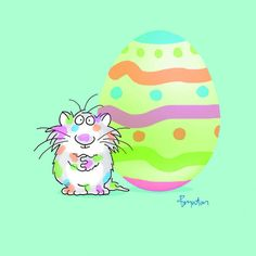 Sandra Boynton‏@SandyBoynton31 Mar   The painting of Easter Eggs calls for enthusiasm if not finesse. pic.twitter.com/zwP8Vdck1O