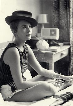 Jean Seberg, 1959, in Breathless [A bout de souffle]