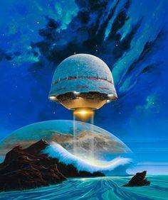 """Art by Philippe ""Manchu"" Bouchet"" Sci Fi Wallpaper, 70s Sci Fi Art, Classic Sci Fi, Comic Games, Out Of This World, Retro Futurism, Dieselpunk, Cyberpunk, Cover Art"