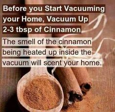 Great hint for the carpet when vacuuming