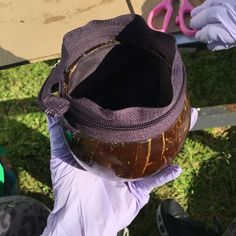 Turn your Old Purse into a New Coconut Purse!!