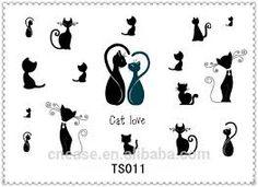 """Résultat de recherche d'images pour """"tatouage chinois chat"""""""