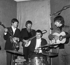 3rd June 1964. With Ringo taken ill, drummer Jimmy Nicol is thrown at the deep end with an hasty rehearsal with The Beatles taking place at EMI Studios.