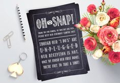 Unplugged Wedding Sign - Printable Chalkboard Sign - No Cellphone Sign - Wedding Decor - Unplugged Ceremony - Rustic Wedding Decorations by GlamazonGraphics