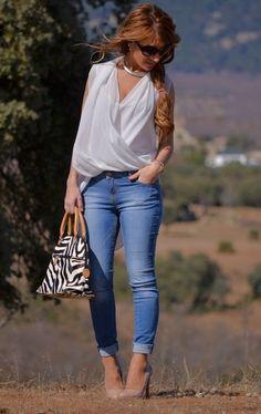 Zara  Shirt / Blouses and Parfois  Bags