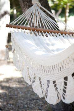 Beach hammock.