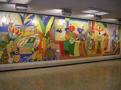 Art in ´Lisboas Metro Stations