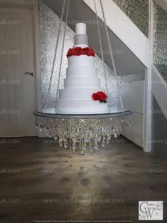 Extravagant Wedding Cakes, Elegant Wedding Cakes, Diy Wedding, Rustic Wedding, Dream Wedding, Suspended Wedding Cake, Chandelier Cake Stand, Wedding Cakes With Cupcakes, Cake Trends