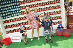 Actress Ali Larter poses during the popchips Crazy Hot BBQ hosted by...