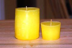 ruční výroba svíček, jak vyrobit svíčku, práce s dětmi, ruční práce, vosk