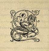Merman & seahorse