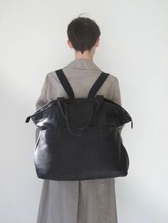 """Leather Bag/Backpack"" https://sumally.com/p/1214227"