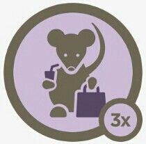 Mall rat badge level 3