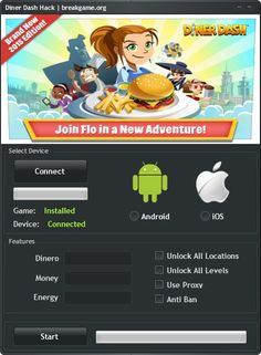 Diner Dash Hack Tool Unlimited Dinero Cheat (Android/iOS)   http://breakgame.org/diner-dash-hack-tool-unlimited-dinero-cheat-androidios/