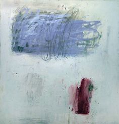 Kit Reuther Abstract #1153 oil, graphite on canvas 60x56 2012