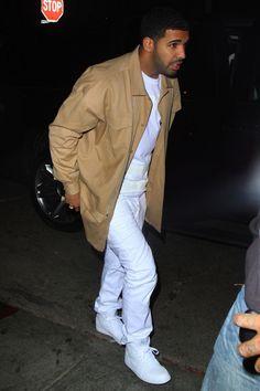 Drake wearing Air Jordan 1 Retro